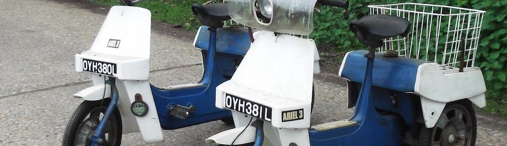 The BSA Ariel 3 register